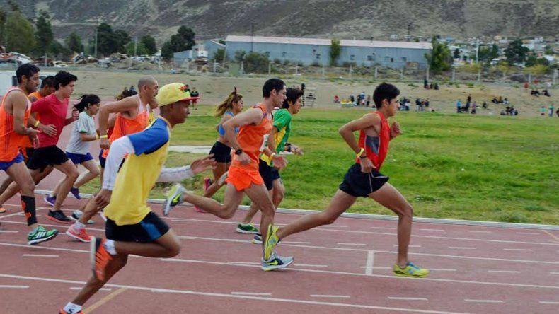 En instalaciones de la pista de solado sintético se realizó el segundo torneo de pista & campo de la temporada.