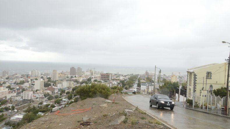 Domingo nublado y lluvioso