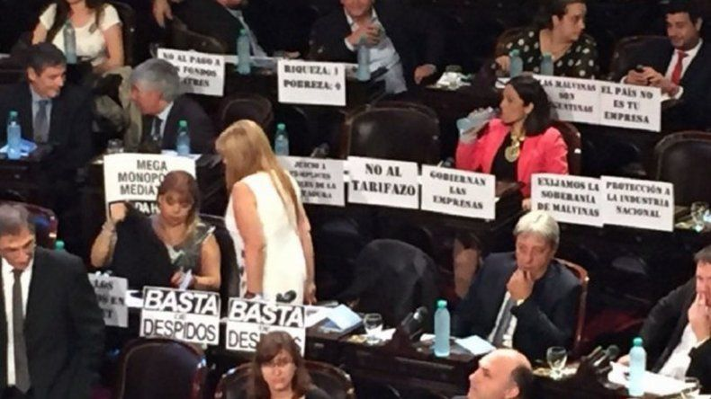 ¿Cómo recibió la oposición a Macri?