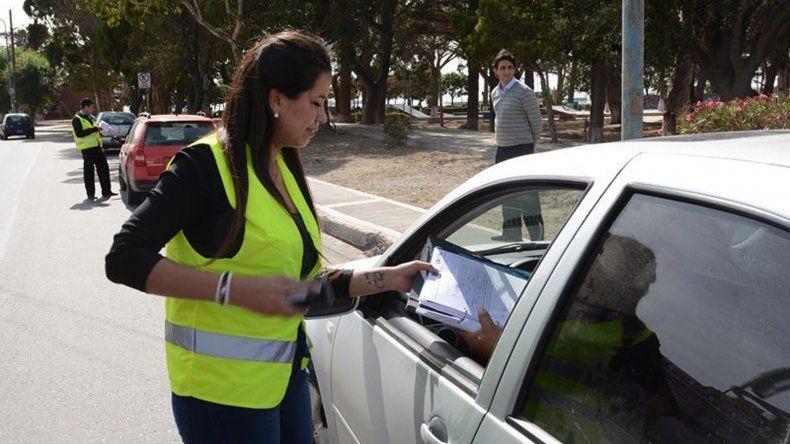 Ayer al mediodía se realizó en la zona céntrica un nuevo operativo de control de Rentas en conjunto con Tránsito.