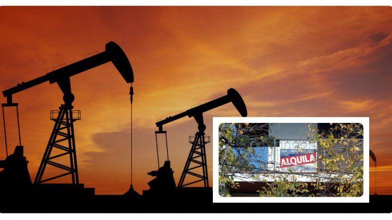 Petroleras comenzaron a devolver propiedades a las inmobiliarias