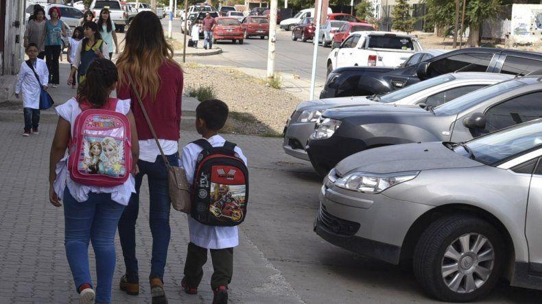 Desde mañana funcionará el corredor escolar seguro en el San Cayetano