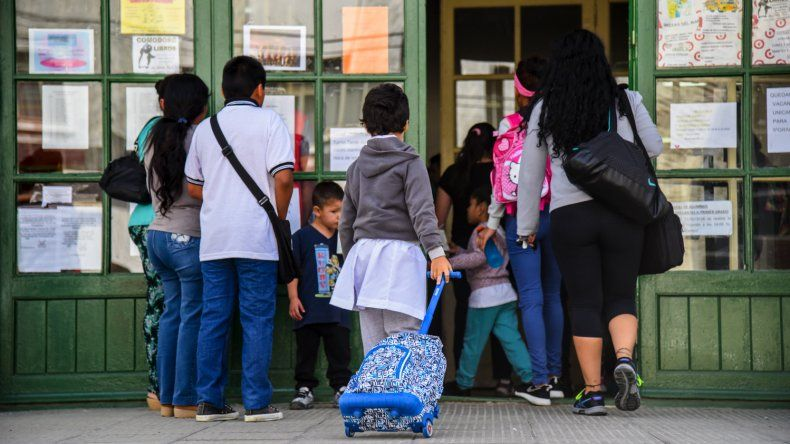 Hoy retomaron las clases en Chubut