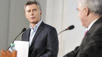 Mauricio Macri al anunciar las obras que Nación financiará en Chubut durante este año.