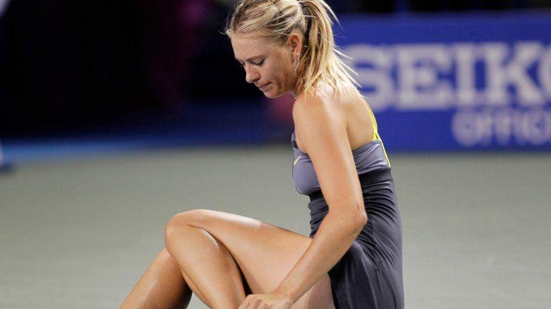 Maria Sharapova dio positivo en el Abierto de Australia
