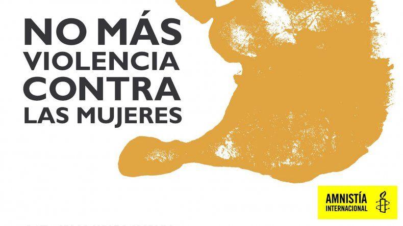 Alarmante informe de Amnistía Internacional sobre violencia contra la mujer.