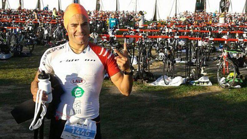 Un percance dejó a Martín Bravo fuera de carrera en Buenos Aires