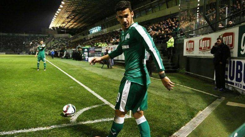 Lucas Villafañez marcó su primer gol con la camiseta del  Panathinaikos