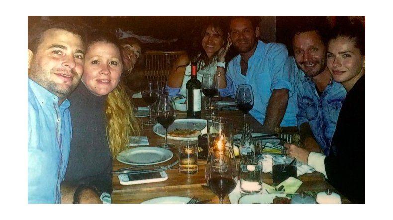 La China Suárez celebró su cumpleaños con Benjamín Vicuña