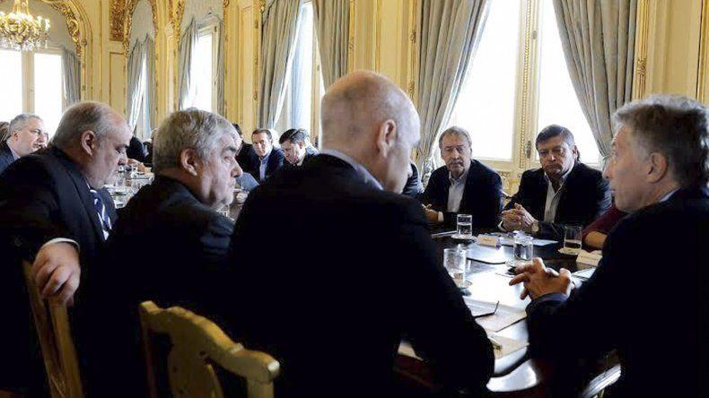 La reunión de gobernadores de ayer en la Casa Rosada
