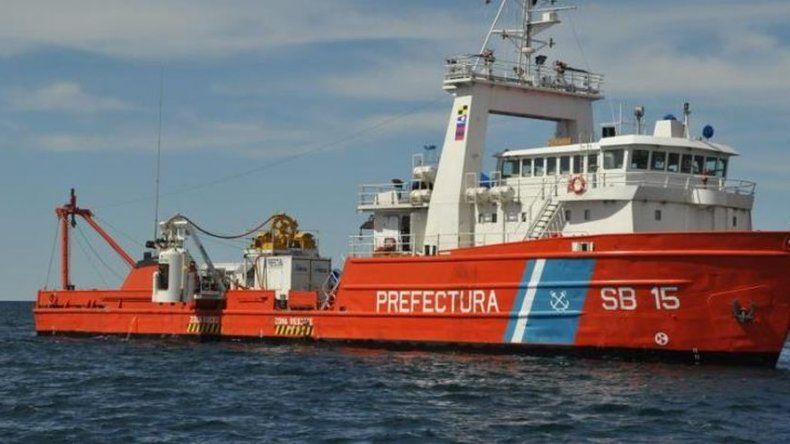 Así intimidaron a tiros al buque chino ilegal ¡Mirá el video!