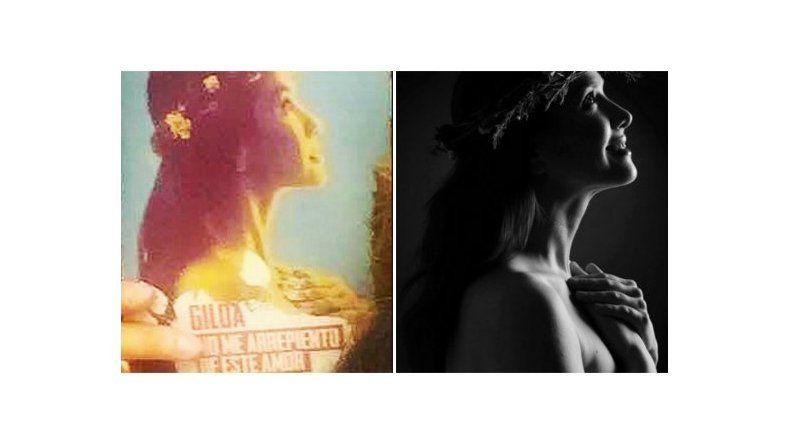 Así será el poster del film sobre Gilda, protagonizado por Natalia Oreiro