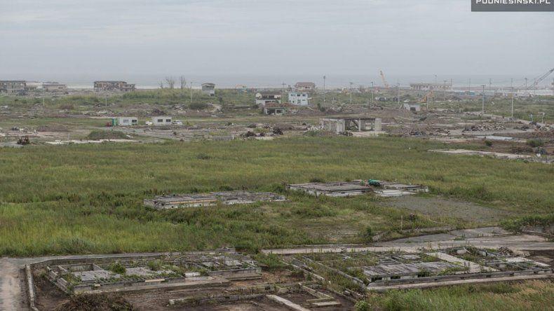 Podniesinski fue capaz de retratar imágenes de la destrucción que conmueven y fomentan la posibilidad de habilitar el paso a ciertas áreas para la explotación del turismo.