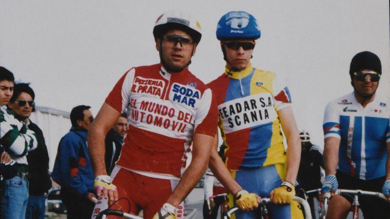 Martín Gurisich, uno de los ciclistas que puso a Comodoro en el plano nacional