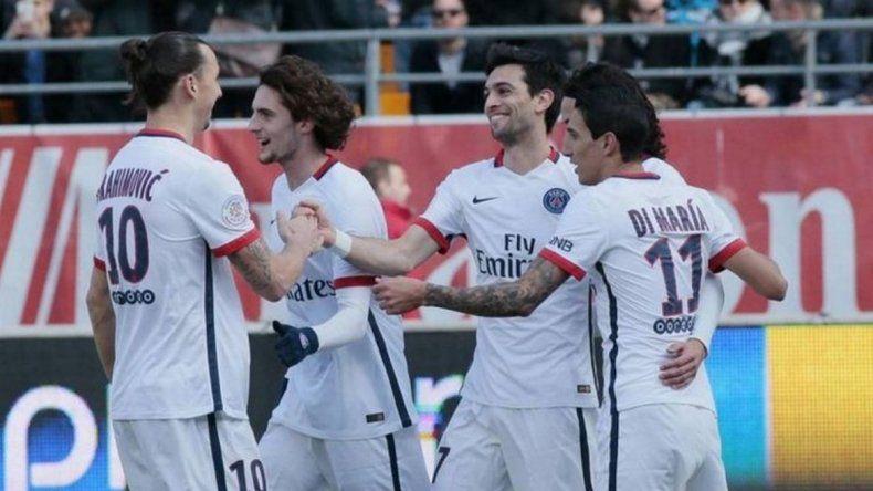 El PSG de Pastore y Di María vapuleó 9 a 0 a su rival y es tetracampeón