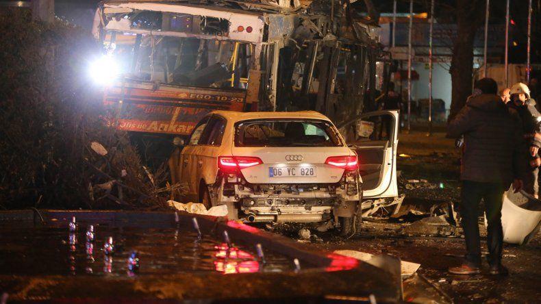 Fuerte explosión sacude el corazón de la capital turca.