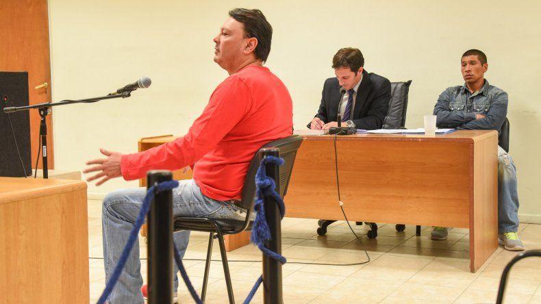Esculapio Velázquez declaró hace poco en el juicio en el que fue absuelto su amigo