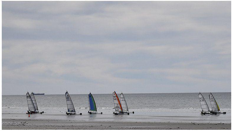 El viento sopló a favor de  Roberto Scavo en Rada Tilly