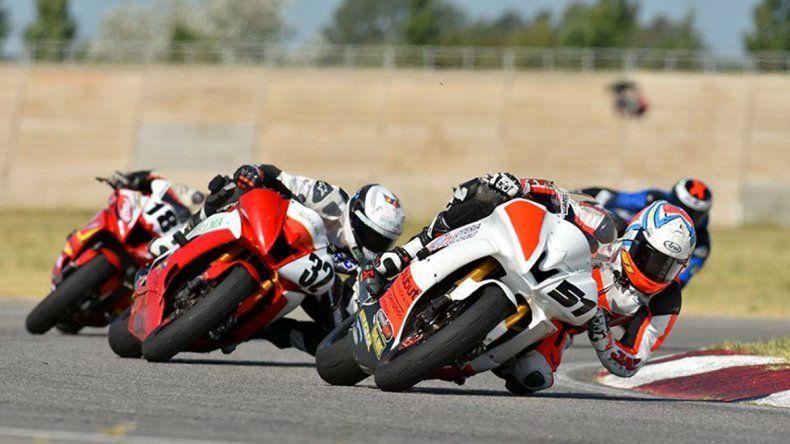 San Luis fue escenario de la primera fecha del Campeonato Argentino de Velocidad de Motociclismo.