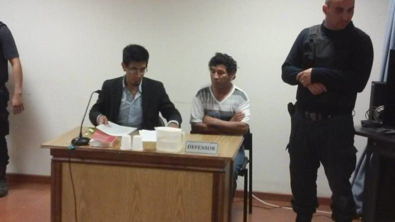 En la audiencia de control de detención Sergio Lempis