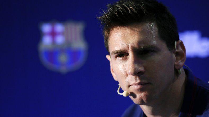 Lionel Messi confesó que más adelante le gustaría jugar en Newells.