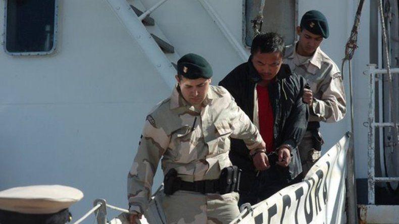 Los tripulantes del buque chino no declararon por falta de traductor