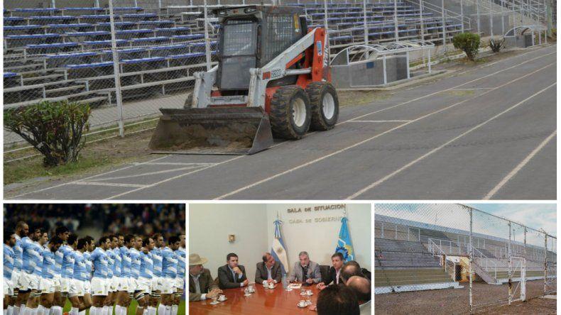 Se destinaron $11 millones para la refacción de los vestuarios del Estadio Municipal