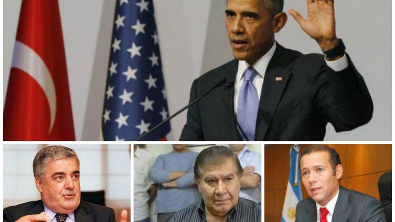 Tres patagónicos confirmados para la cena con Obama
