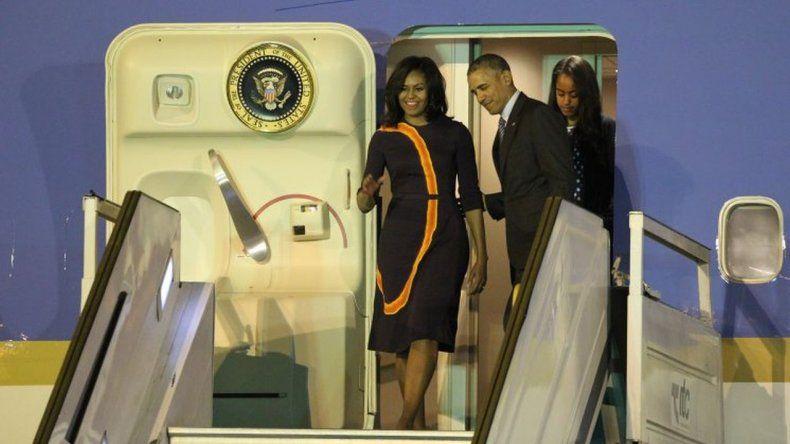 Las primeras horas de Obama en la Argentina