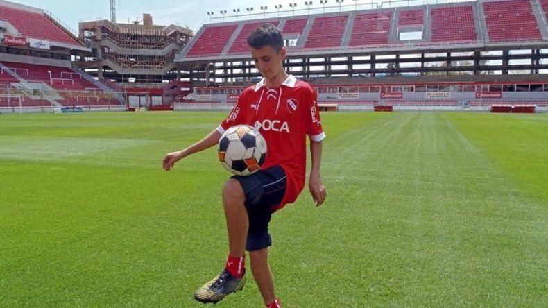 Juvenil de Independiente fue vendido al Barcelona