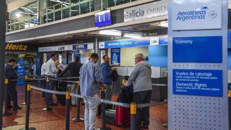 En el aeropuerto local no hay obras de ampliación