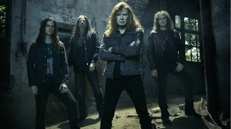 Megadeth desembarcará con todo el metal en la Patagonia