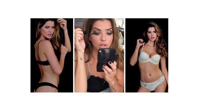 La China Suárez se divierte posando sexy: fotos hot e intimidad del backstage