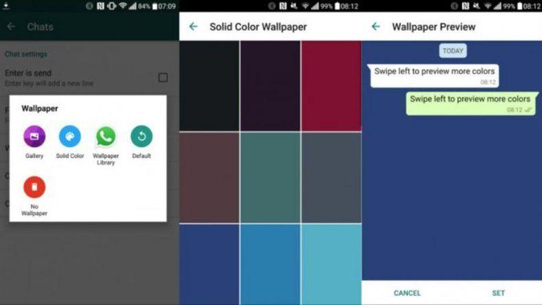 WhatsApp realizó nuevos cambios en su plataforma