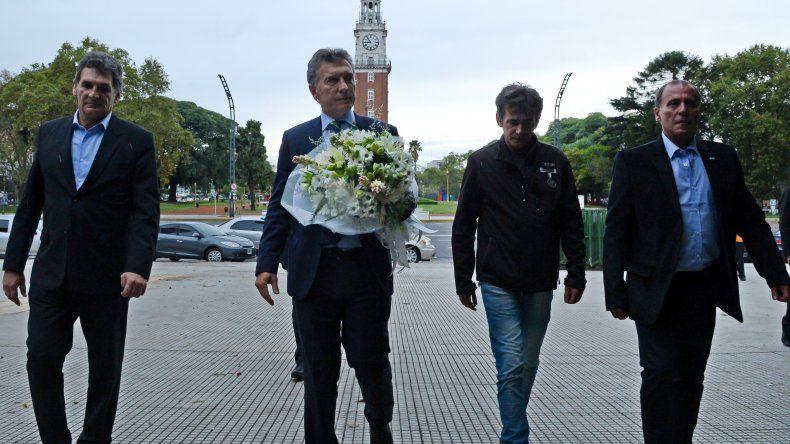 Macri participó del homenaje a los ex combatientes