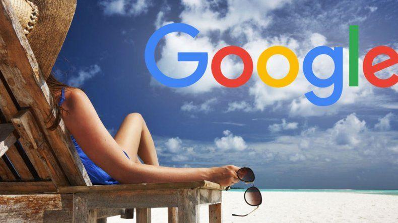 Google Destinos solo funciona desde celulares y basta con que el usuario ingrese el país o continente que desea visitar y sumarle la palabra destinos.