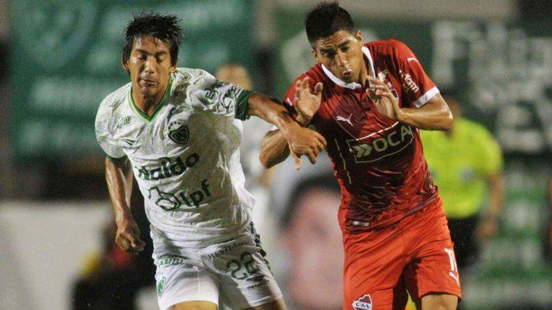 Independiente y Sarmiento protagonizaron un partido muy pobre en Junín.