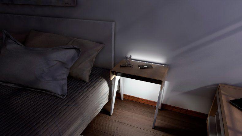 Emprendedor comodorense lanza en Nueva York la primera mesa de luz inteligente