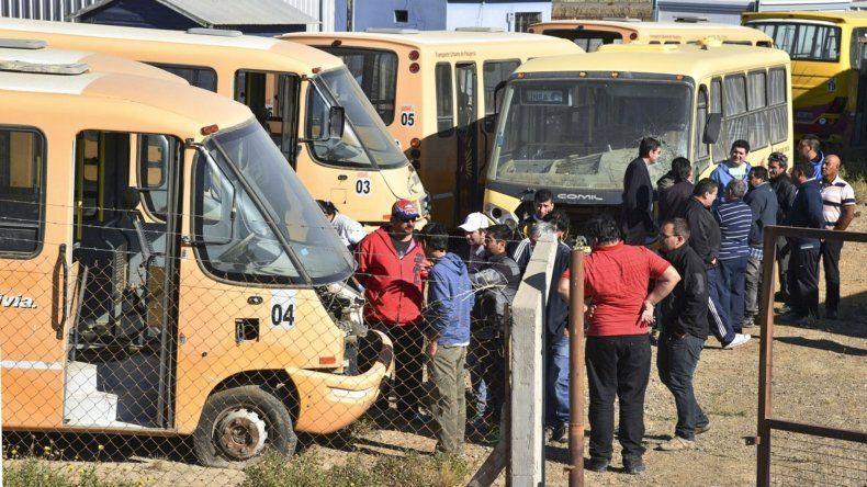 Ex trabajadores de Autobuses