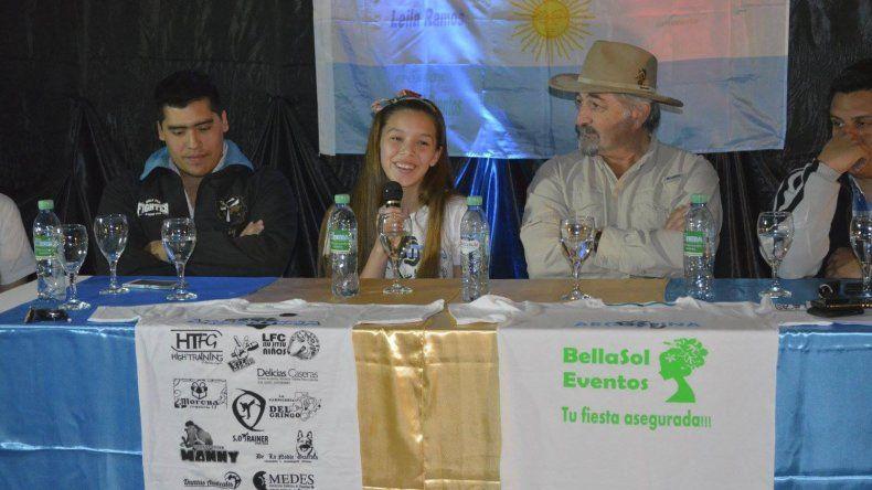 Leila clasificó al Mundial de Inglaterra y pide la solidaridad de la ciudad