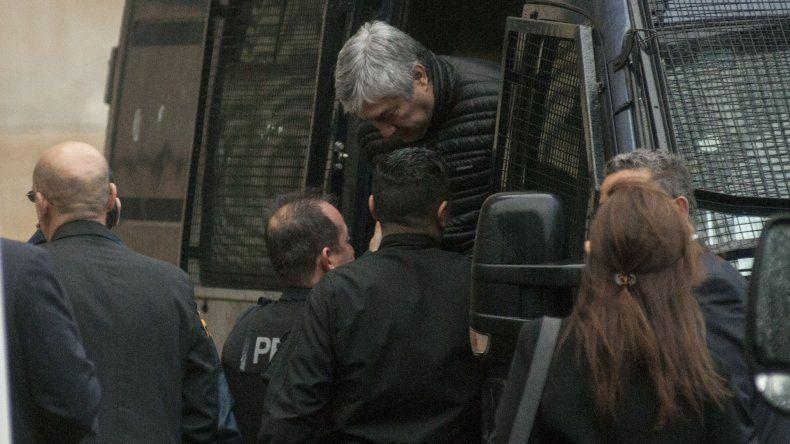 Rechazan el pedido de excarcelación de Lázaro Báez y seguirá preso otro año