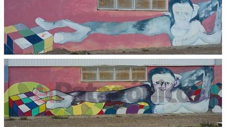 ¡Mirá los nuevos murales en la Escuela de Arte!