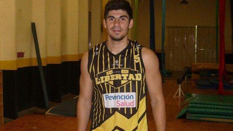 Jonatan Machuca llega desde Libertad de Sunchales.