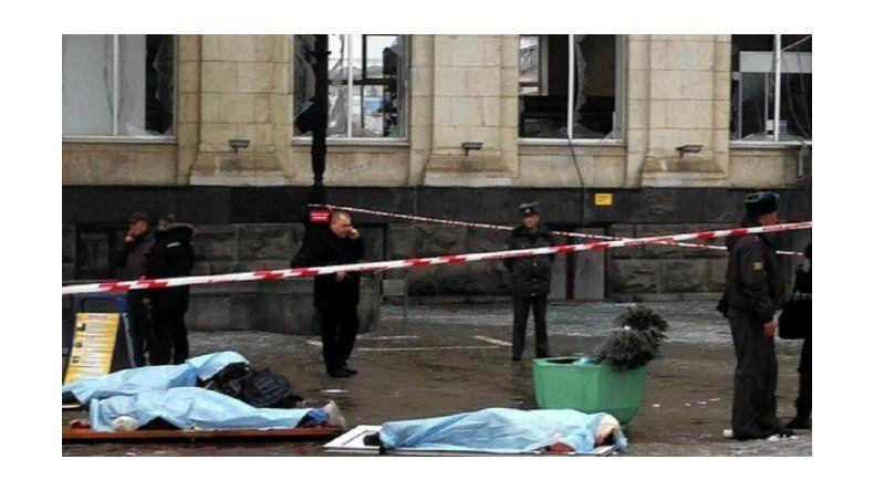 Conmoción en Rusia por un triple atentado suicida