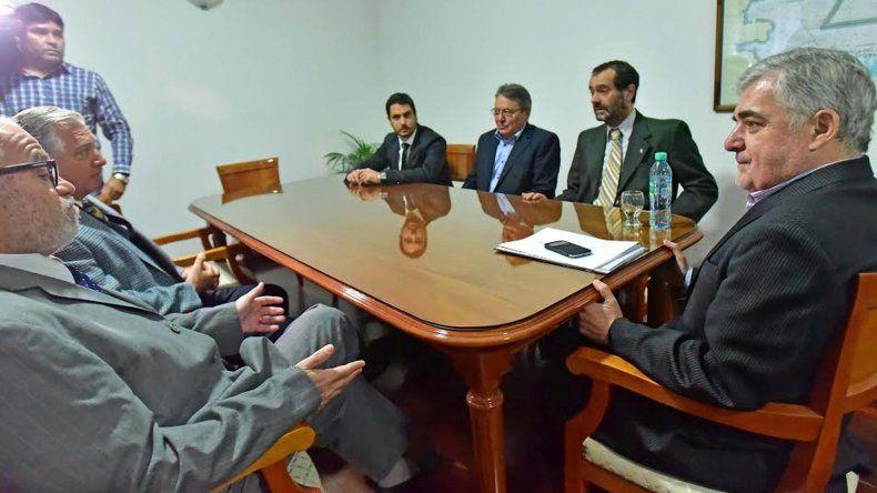 Das Neves se reunió con el STJ por el narcotráfico en Chubut