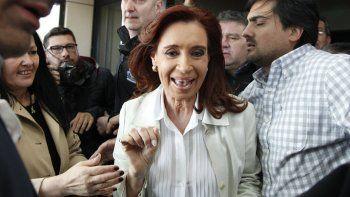 Cristina lanzó críticas contra los miembros del gobierno de Macri