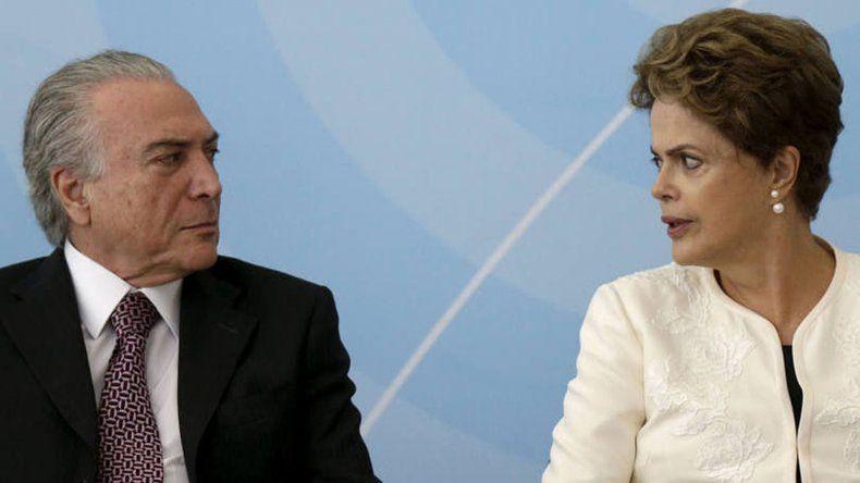 La Presidenta cargó por primera vez en forma directa contra Temer.