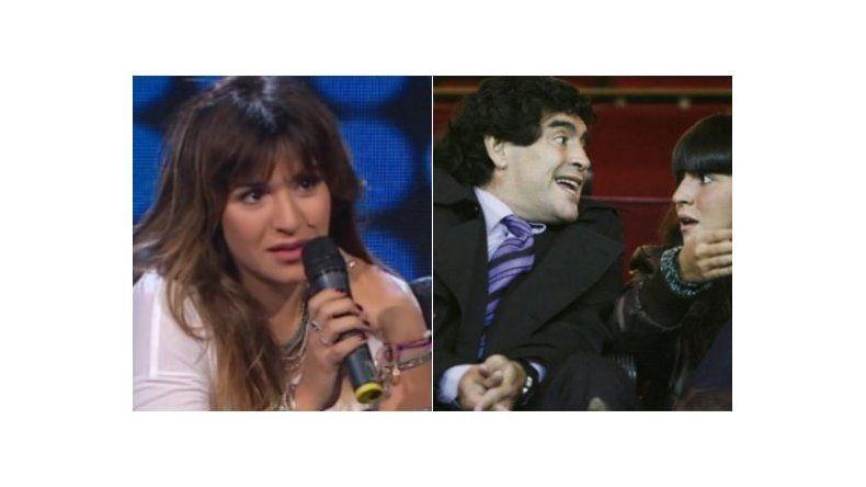 Gianinna Maradona contó cuál fue la situación más difícil que vivió con Diego