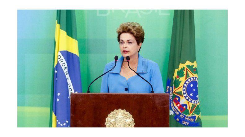 Dilma, a un paso del juicio político: No es el final, es el principio de una lucha