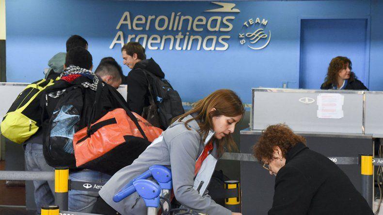 En Comodoro hubo dos vuelos cancelados